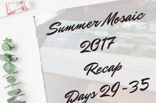 Summer Mosaic 2017 Recap blog cover