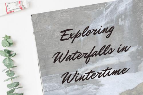 Exploring Waterfalls in Wintertime blog cover