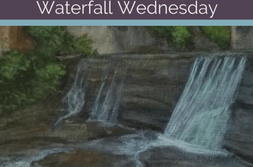 Van Natta Falls Waterfall Wednesday blog cover
