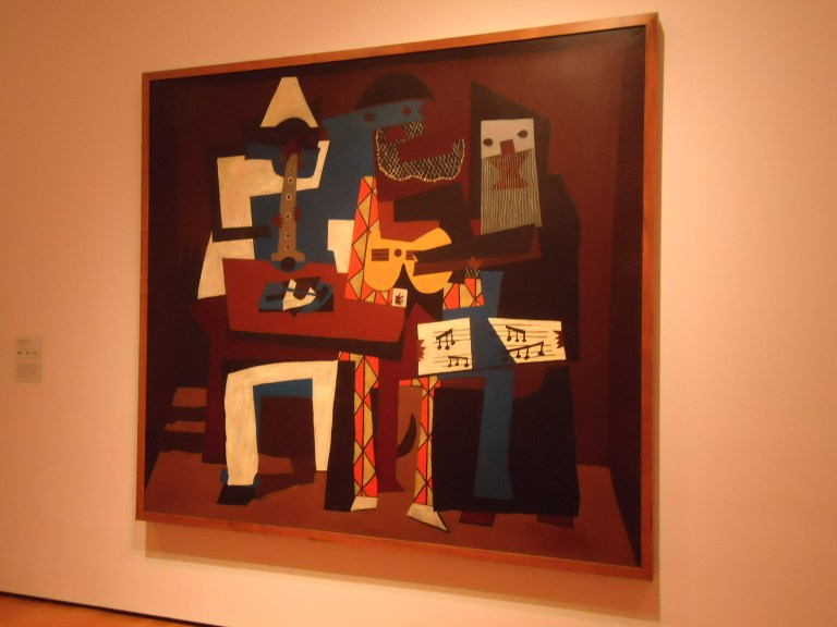 Photo of Three Musicians by Picasso
