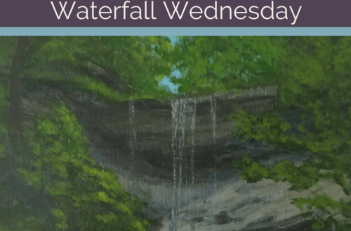 Tinker Falls Waterfall Wednesday blog cover