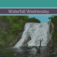 Waterwall Wednesday: Ithaca Falls