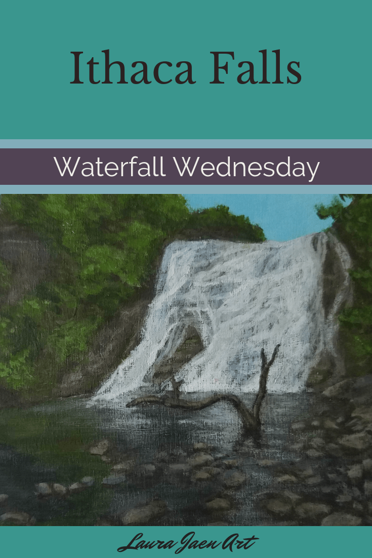 Ithaca Falls Waterfall Wednesday blog cover