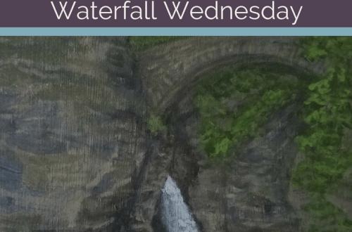 Sentry Cascade Waterfall Wednesday blog cover
