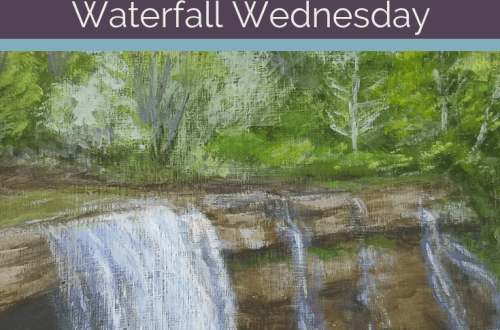 Ludlowville Falls Waterfall Wednesday blog cover