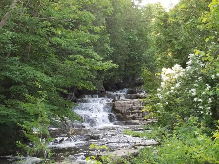 Photo of Stockbridge Falls by Laura Jaen Smith