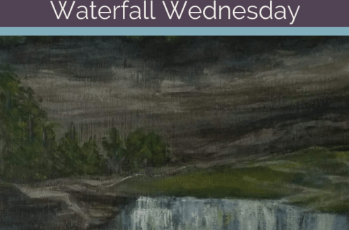 Lower Falls Letchworth State Park Waterfall Wednesday blog cover