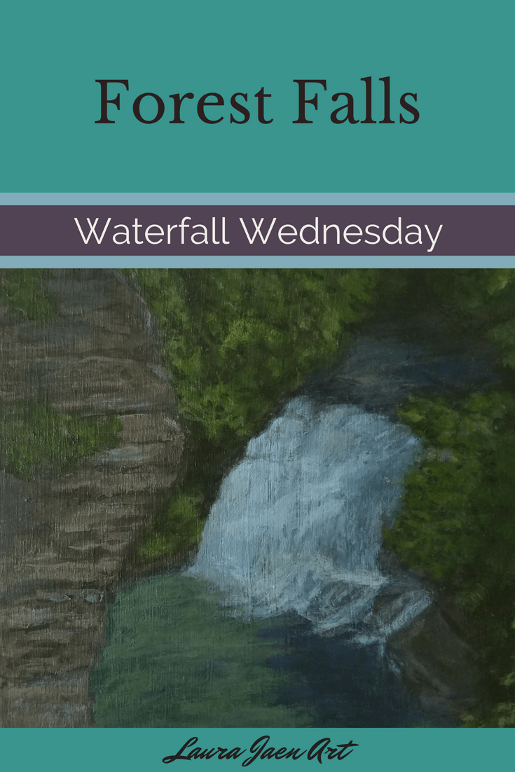 Forest Falls Waterfall Wednesday blog cover
