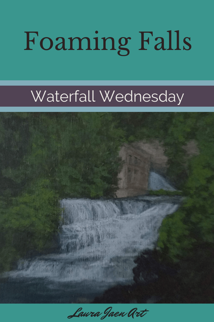 Foaming Falls Waterfall Wednesday blog cover