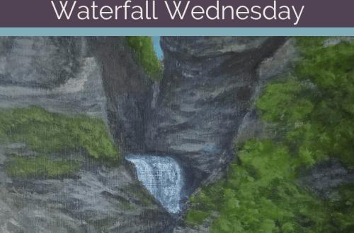 Minnehaha Falls Waterfall Wednesday blog cover