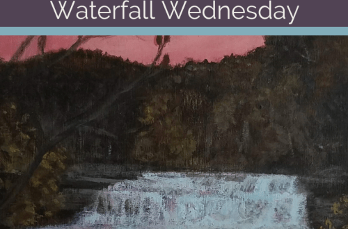 Lower Taughannock Falls Waterfall Wednesday blog cover