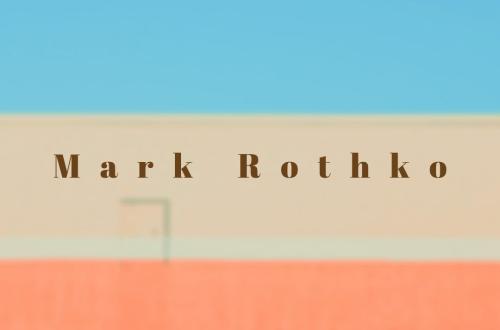 Mark Rothko blog cover