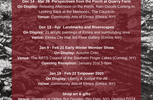 February events graphic