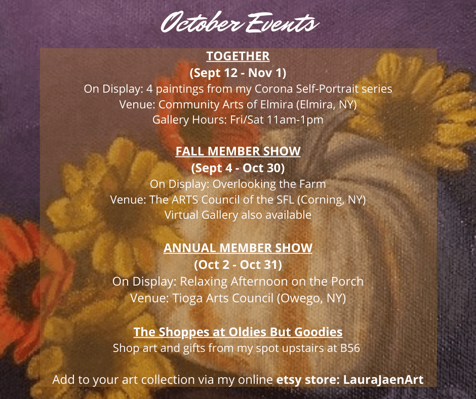 october events graphic