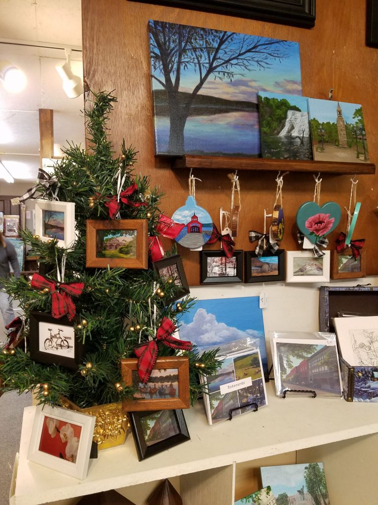 Photo of art and items by Laura Jaen Smith at Oldies But Goodies in Big Flats NY