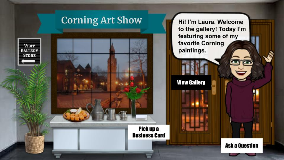 Corning Art Show interactive art gallery blog cover