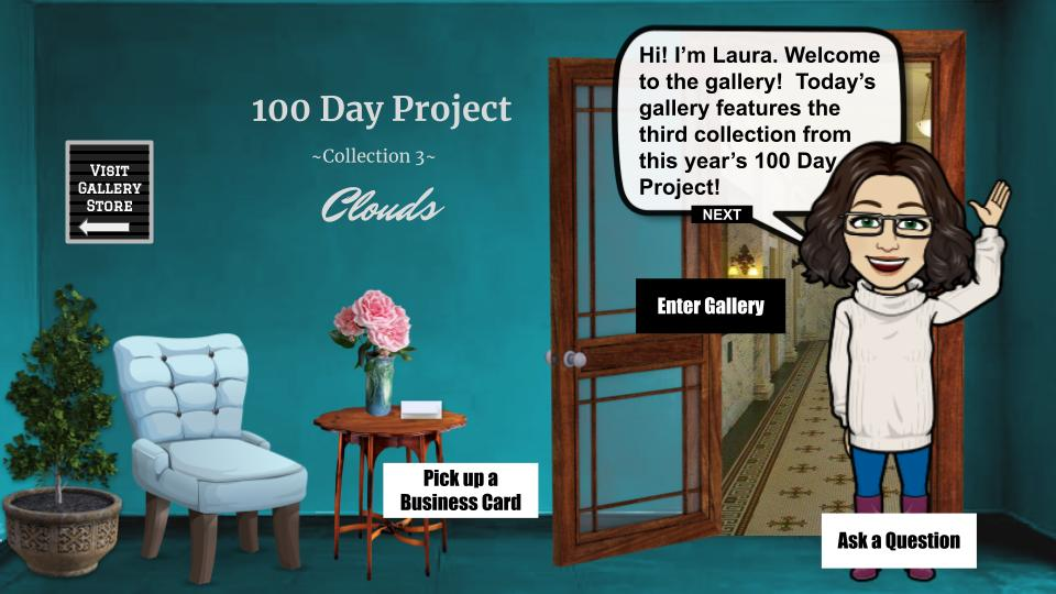 100 day project collection 3: clouds interactive art show blog cover