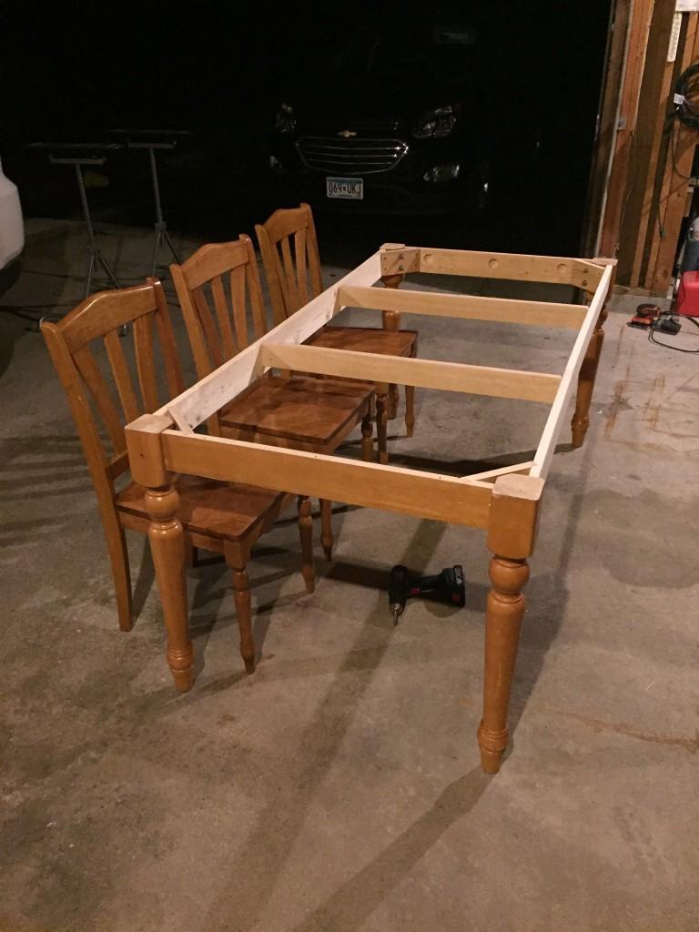 diy kitchen tables island range table flip for under 100