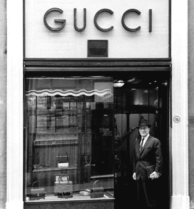 Primeira loja da Gucci, em Florença, na Itália