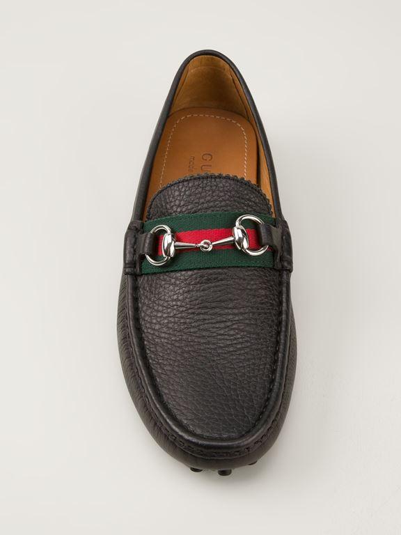 Sapato Gucci Horsebilt Loafer