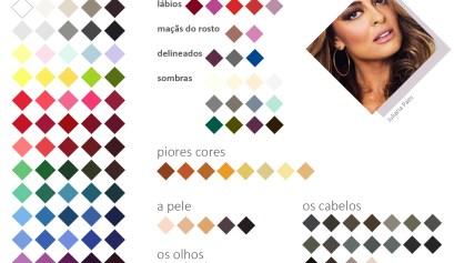 paleta de coloração pessoal da Juliana Paes Inverno Profundo