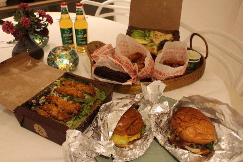 menu Muda Burger, delivery São Paulo na quarentena.