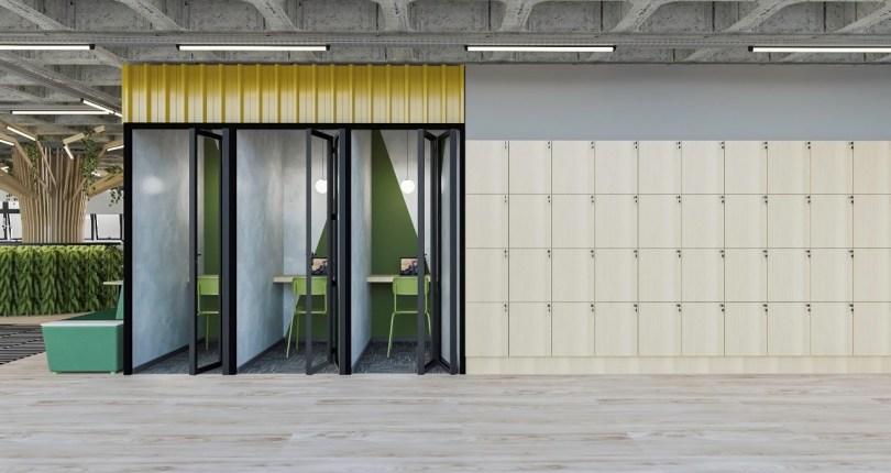 Projeto Coworking Alê Brandini Arquitetura