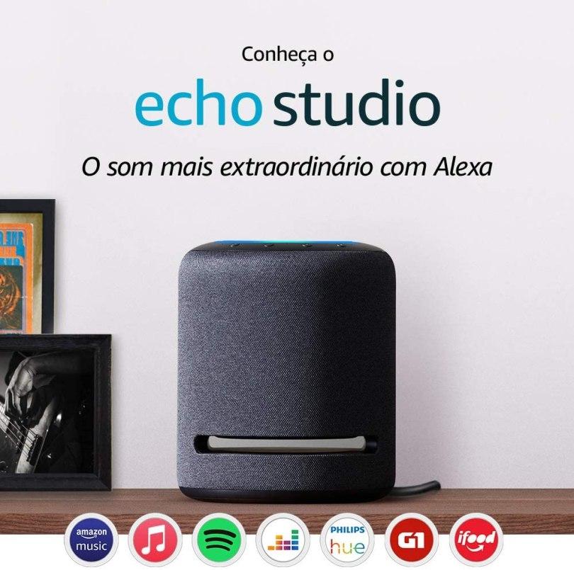 Echo Studio Alexa Amazon
