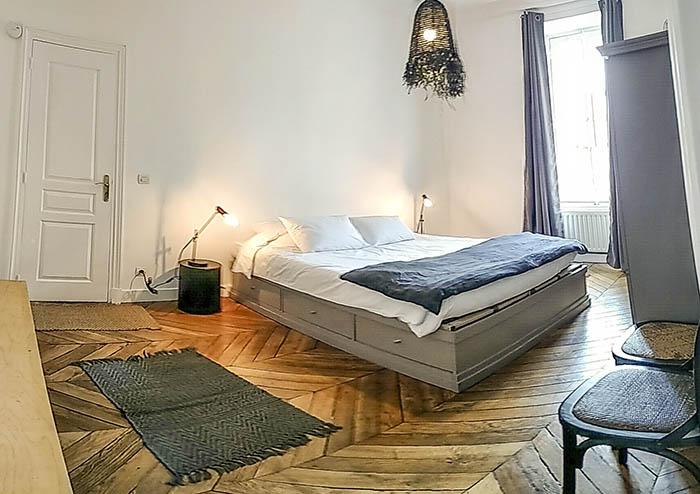 Suíte 2 do apartamento SENTIR A la Parisienne em Paris