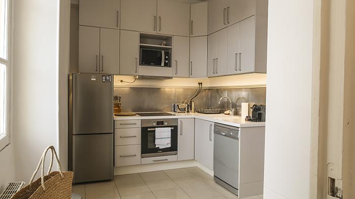 Cozinha do apartamento SENTIER A la Parisienne em Paris