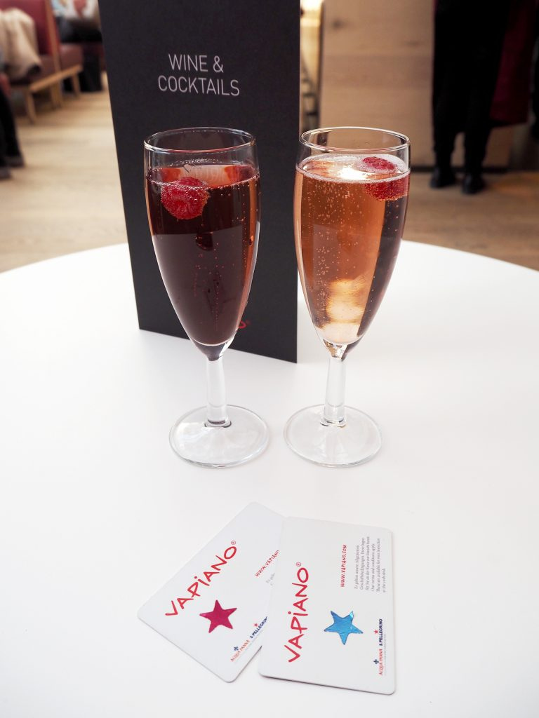 Vapiano UK new cocktail menu launch - Manchester event & review