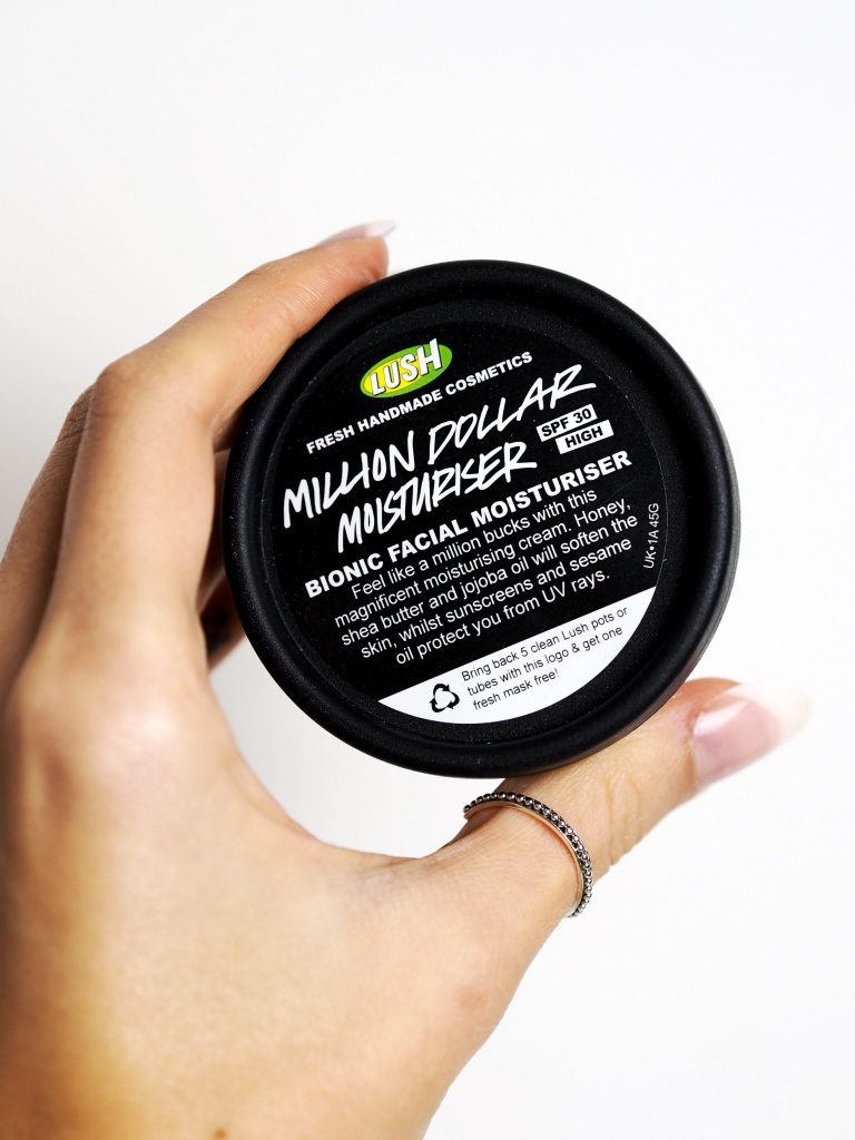 Laura Kate Lucas - Manchester Fashion, Beauty and Lifestyle Blogger | Lush Million Dollar Moisturiser Product Review