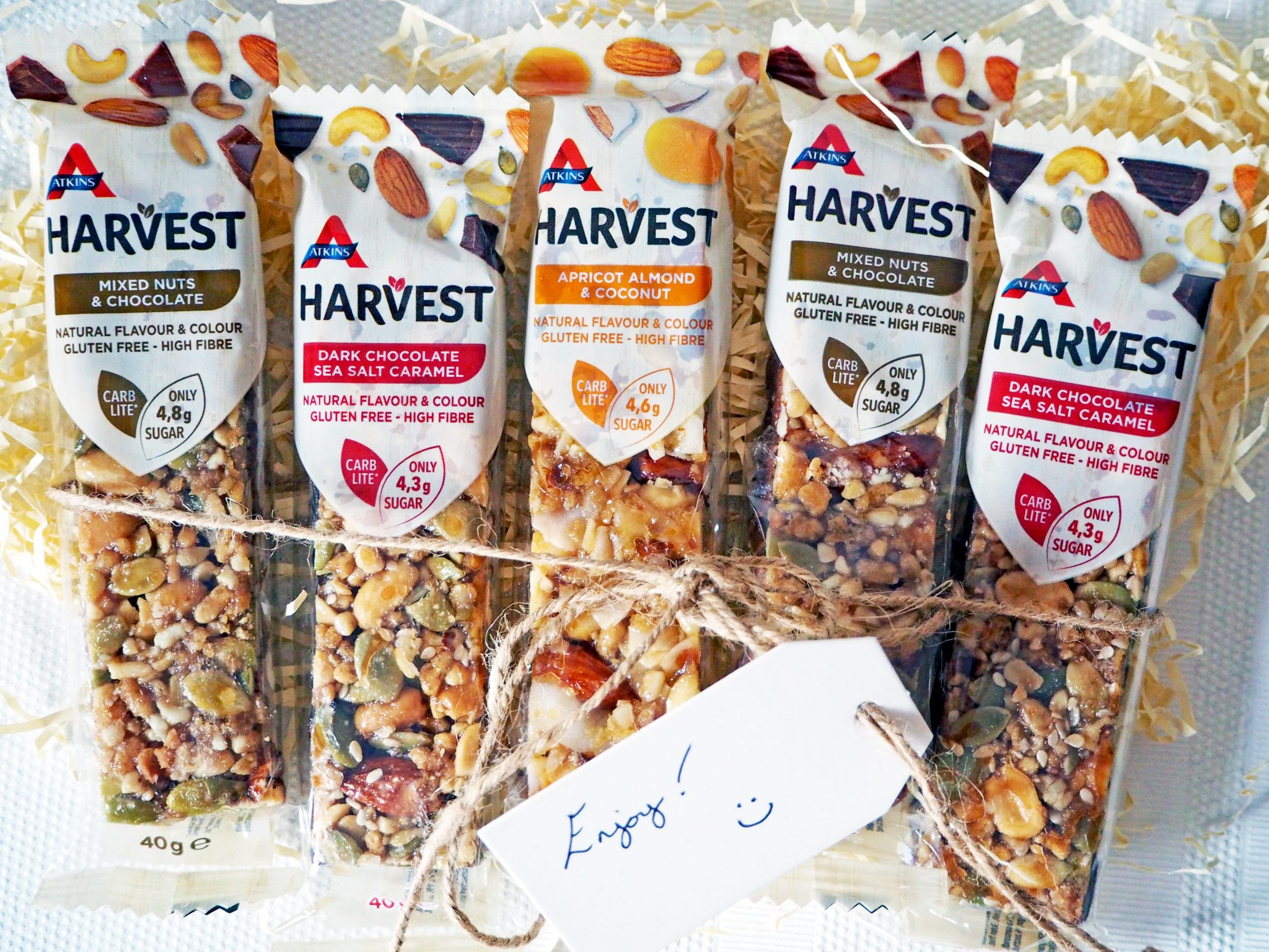 Laura Kate Lucas - Manchester Food, Fitness and Fashion Blogger   Atkins Harvest Natural Bar