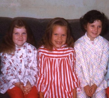 Elsie, Laura, Katie