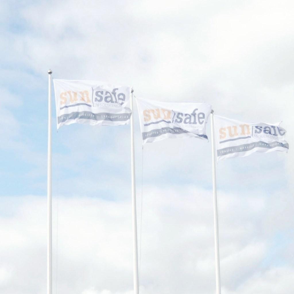 Sunsafe flag branding
