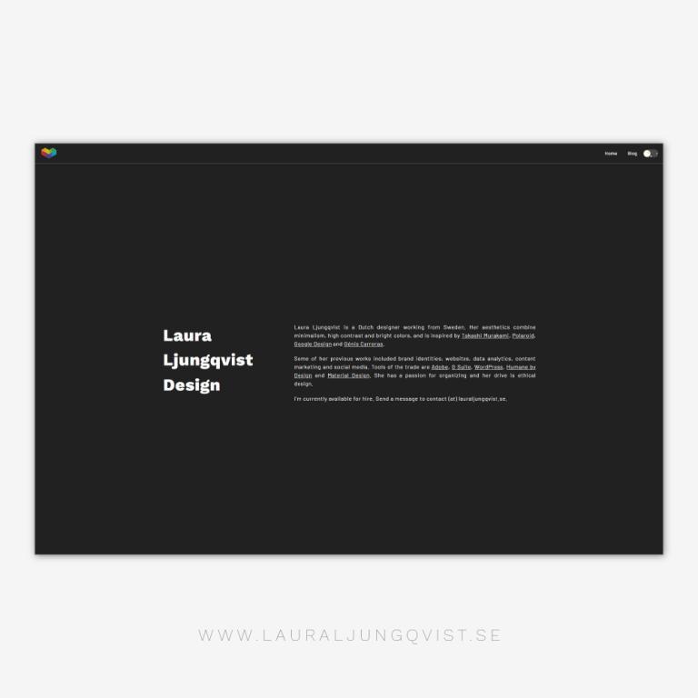 LLD Website Dark Mode
