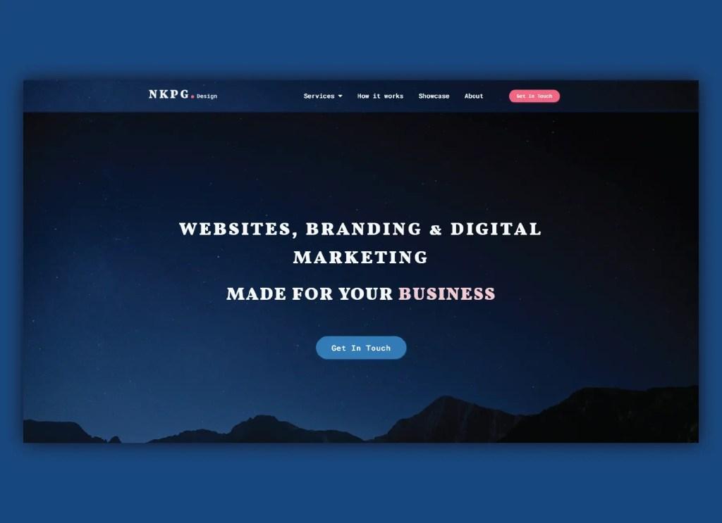 NKPG Design website