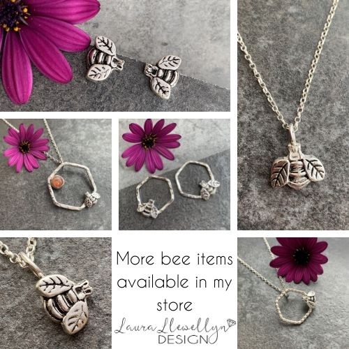 Silver bee collection