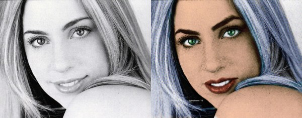 Lady-gaga before and after fame