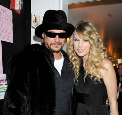 TRENDING ON TWITTER: Kid Rock Calls Out Taylor Swift for Sleeping