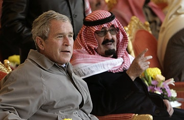 This image has an empty alt attribute; its file name is bush-bin-laden.jpg