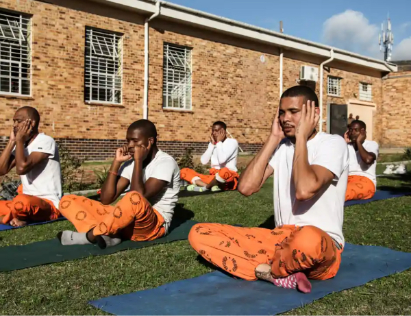 Read more about the article Doing a stretch: how yoga is cutting stress in South African prisons, The Guardian