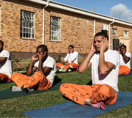 Doing a stretch: how yoga is cutting stress in South African prisons, The Guardian