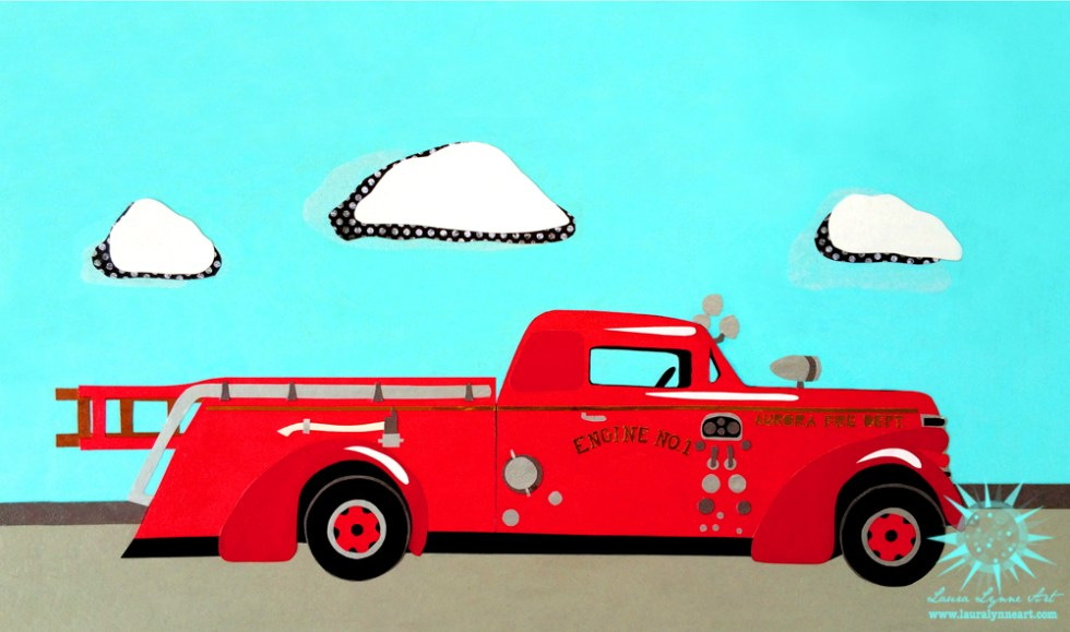 american-la-france-fire-truck-art-illustration
