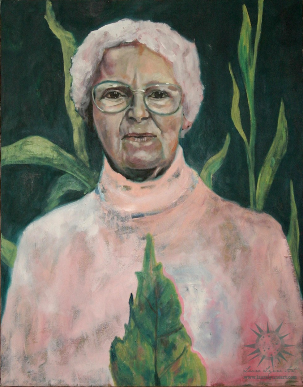 oil on canvas portrait painting by chicago aurora artist Laura Lynne
