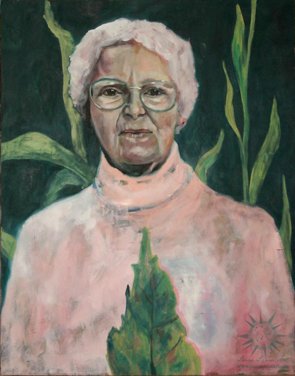 oil on canvas portrait painting by chicago aurora artist Laura Lynne