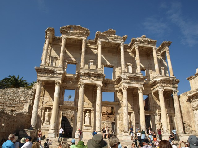 The 3rd Largest Library in the Ancient World, at Ephesus
