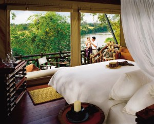 A View from Four Seasons Tented Camp at the Golden Triangle