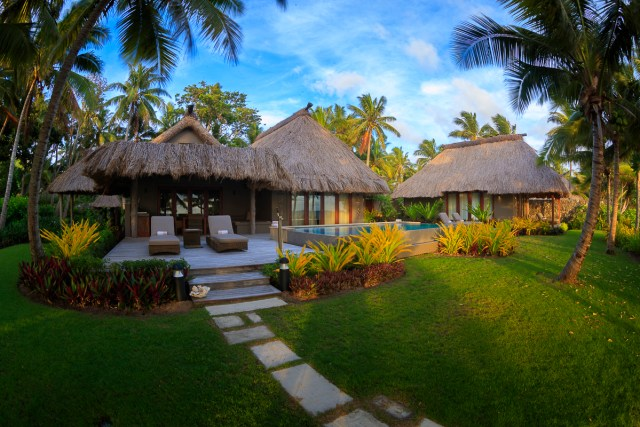 7. Two Bedroom Beachfront Villa - Exterior