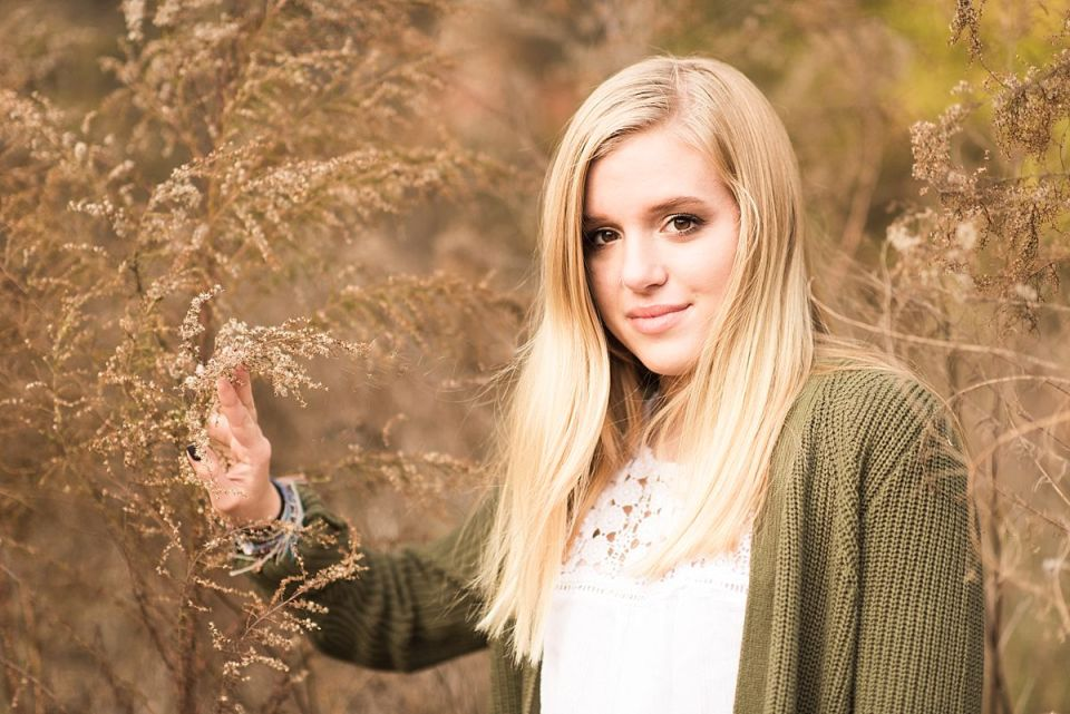 senior, richmond, glen allen, natural, fall, rustic, high school